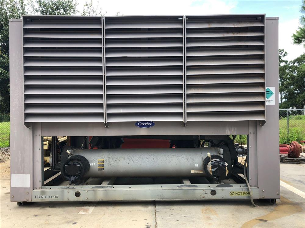 60 Ton CARRIER Air Cooled Reciprocating Liquid Chiller
