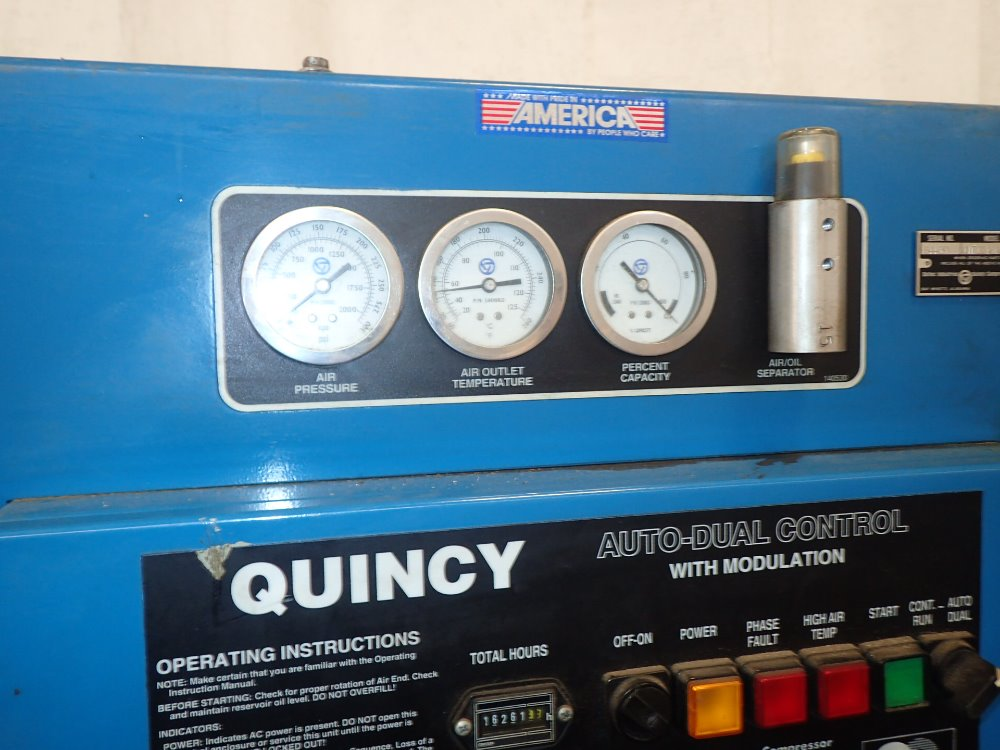 QUINCY QMT20ACA32E Air - 341145 For Sale Used N/A
