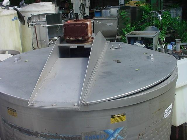 Image 600 Gallon DAMROW ThermX Jacketed Tank with Coils - Stainless Steel 1280859