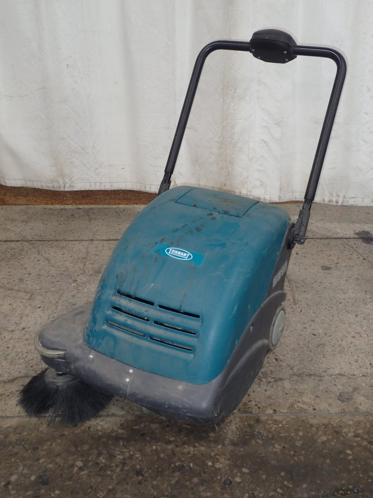 TENNANT Floor Scrubber For Sale Used - Used riding floor scrubber for sale