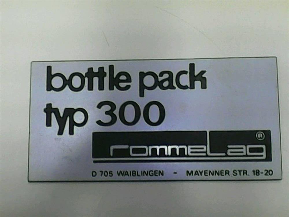 Image ROMMELAG Bottle Pack 300 Blow-Fill-Seal  1285123