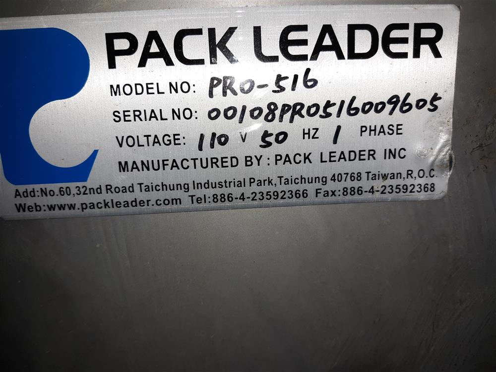 Image PACK LEADER Pro 516 Wrap Around Labeler 1487531