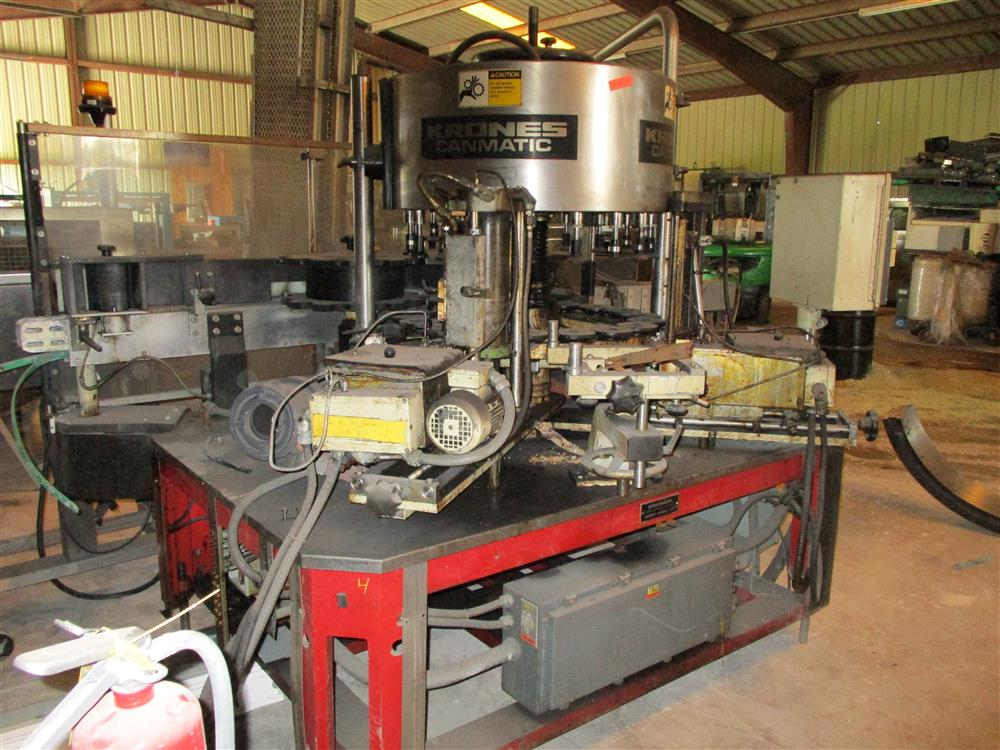 Image KRONES Canmatic Labeler 1287845