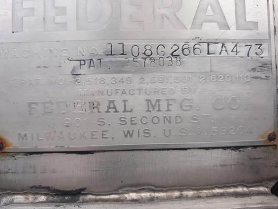Image FEDERAL Filler with 38mm Snap Cap Capper 1489450