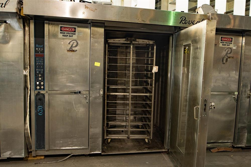 Revent 620 Double Rack Gas 343395 For Sale Used