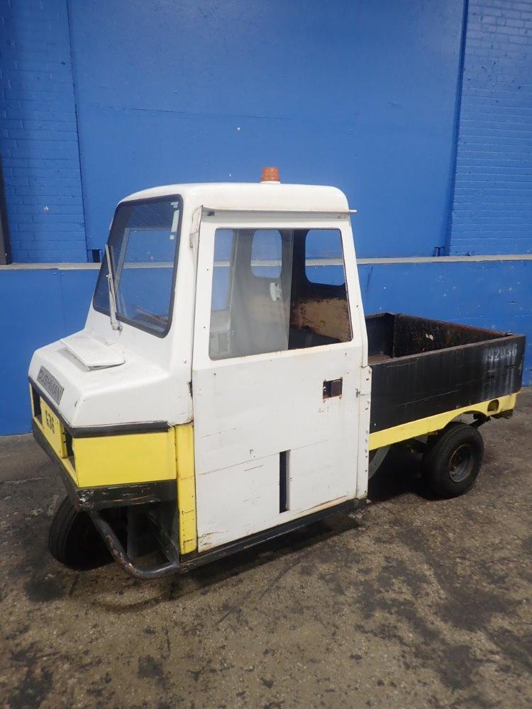 CUSHMAN 22HP 3W FLATBED Propane Maintenance Cart