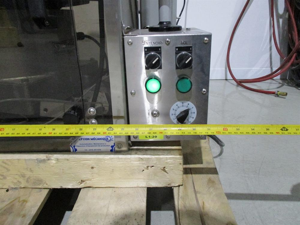 Image SUPERIOR PACKAGING SYSTEM Vibratory Cap Feeder Sorter with FMC Syntron Device 1297595