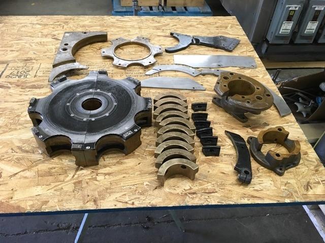 Lot of ANGELUS 60L Change Parts