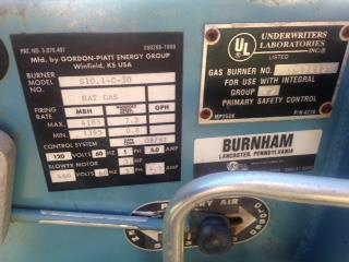Image BURNHAM 3W-100-50-G-GP Water Heater 1306153