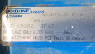 Image 12in KRONE Flow Meter 1306163
