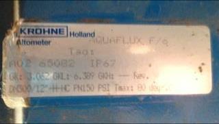 Image 12in KRONE Flow Meter 1306167