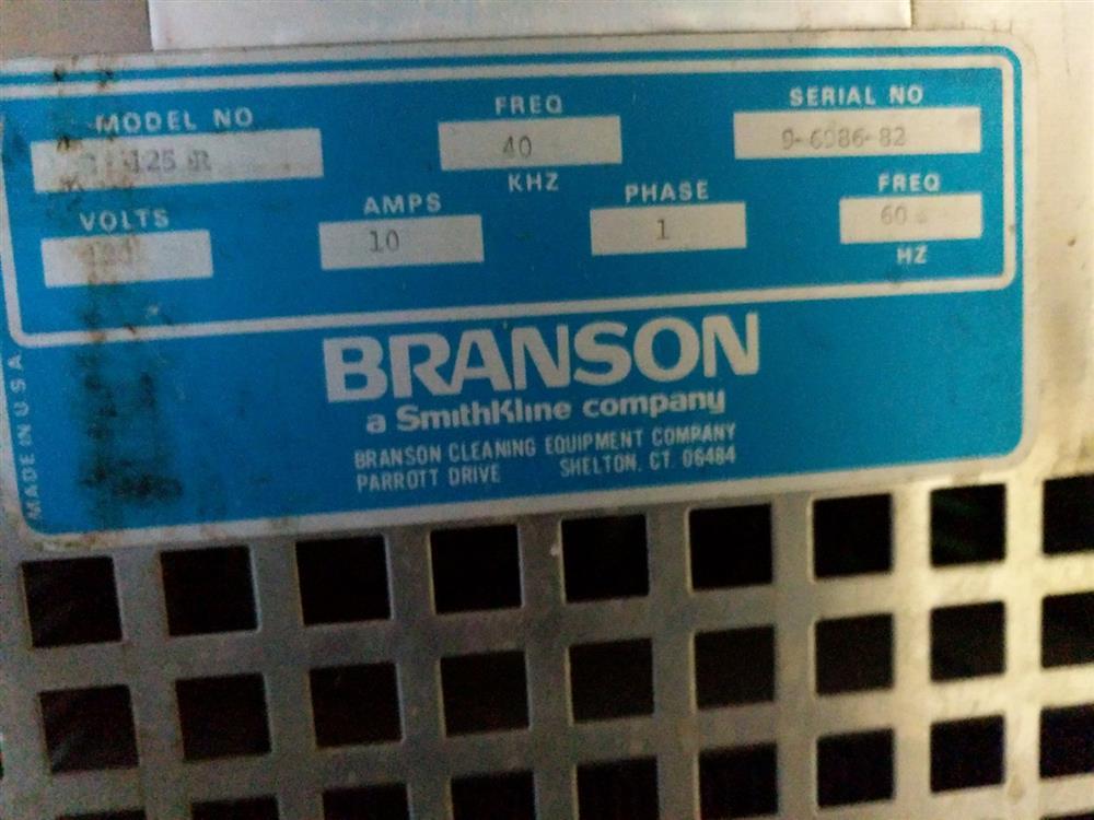 Image BRANSON B125R Vapor Degreaser 1308847