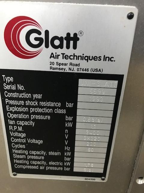 Image GLATT Uni-Glatt Laboratory Fluid Bed Dryer 1312175