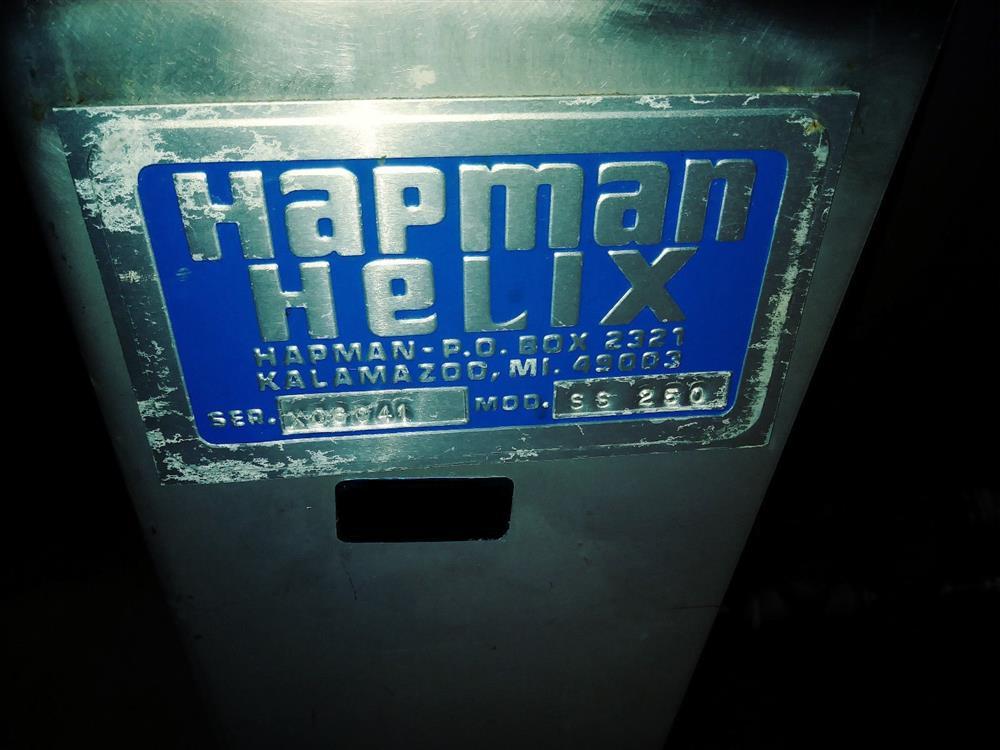 Image HAPMAN HELIX S.S. 250 Hopper with Hardy Scale  1312283