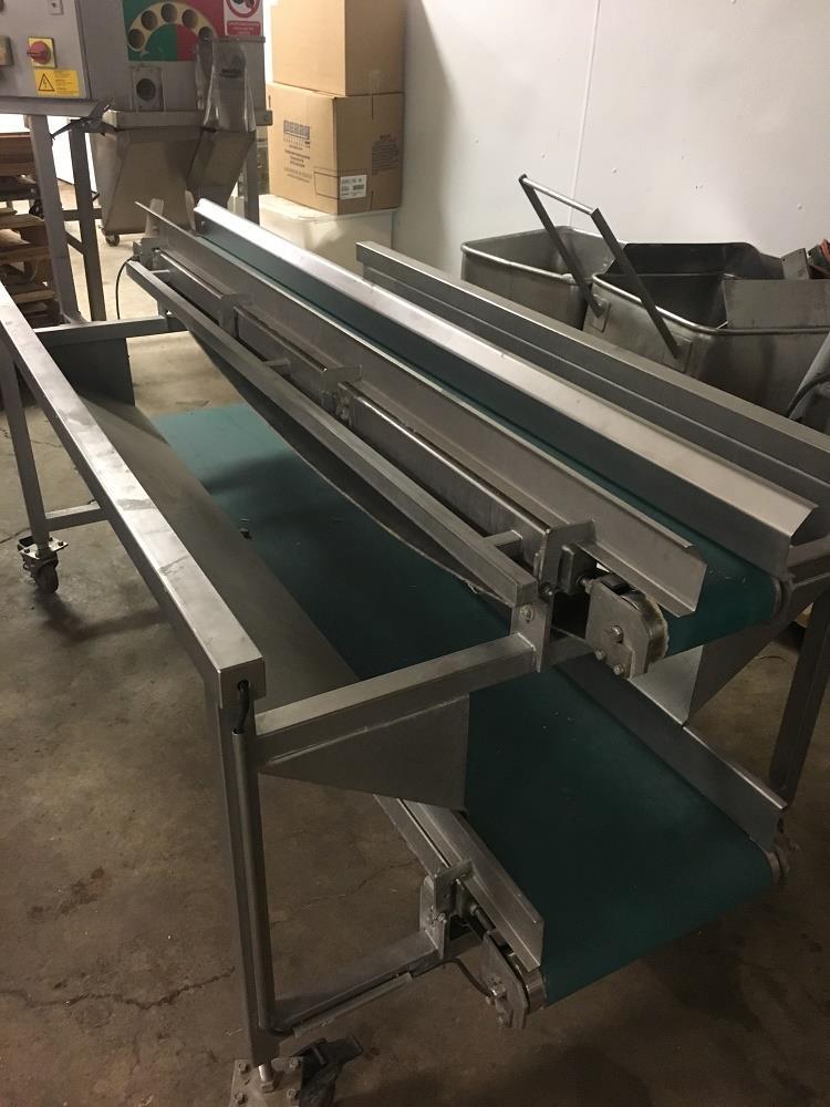 Image BOCK ENGINEERED Waste Conveyor - Stainless Steel, Food Grade 1316063