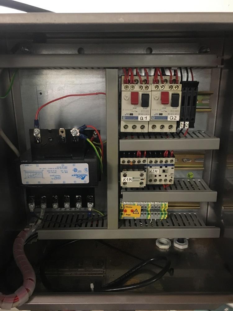 Image BOCK ENGINEERED Waste Conveyor - Stainless Steel, Food Grade 1316067