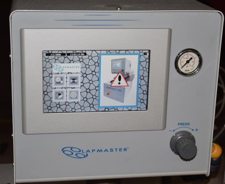 Image LAPMASTER COMPUMET 300 Programmable Auto Polisher Pressure Sample Holders 1320244