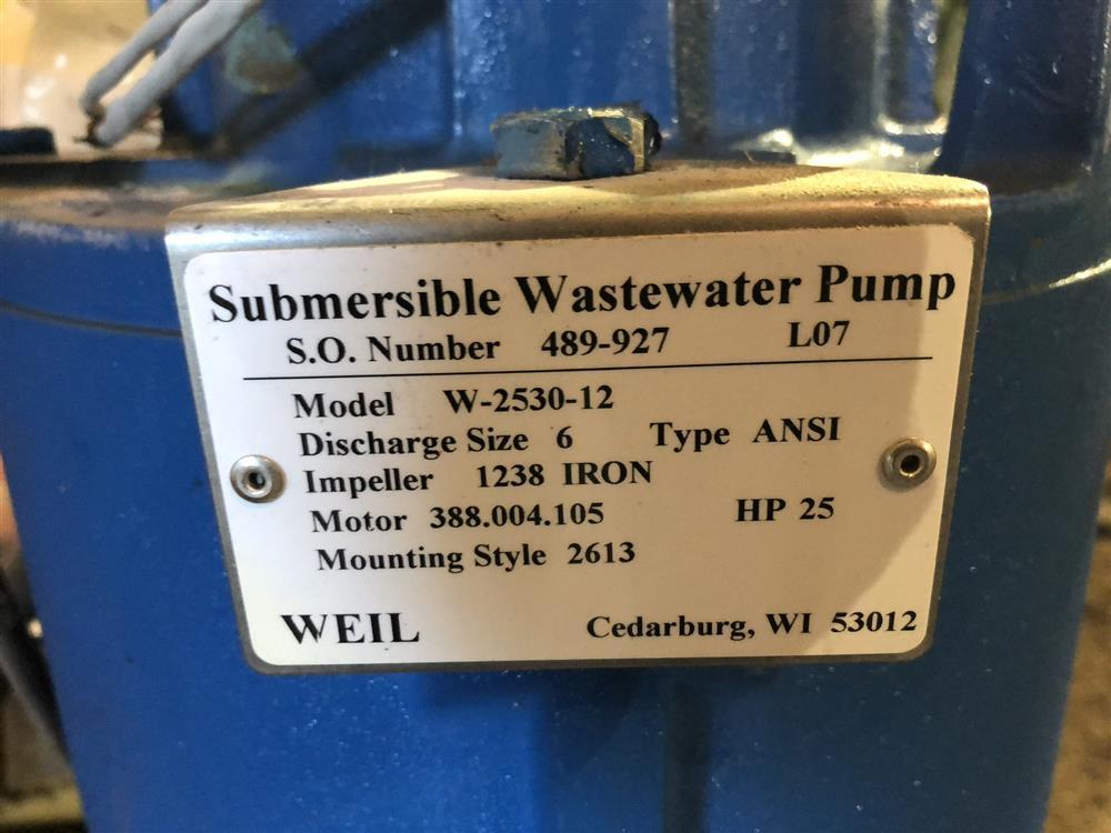 Image WEIL W-2530-12 Pump 1326802