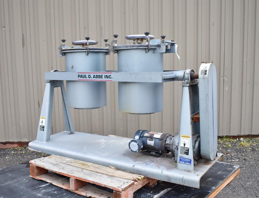 Image PAUL O ABBE PJM/D1 Pivoting Jar Mill 1326884