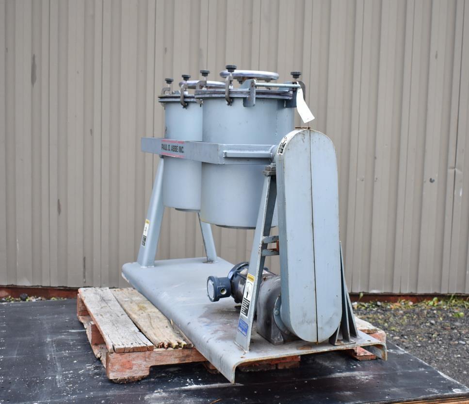 Image PAUL O ABBE PJM/D1 Pivoting Jar Mill 1326928