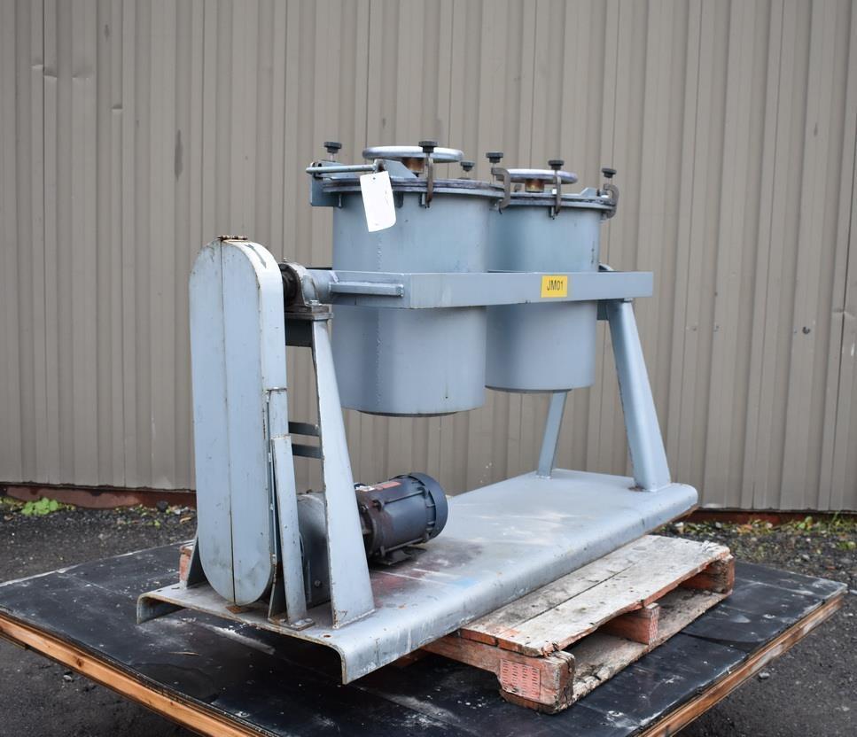 Image PAUL O ABBE PJM/D1 Pivoting Jar Mill 1326929