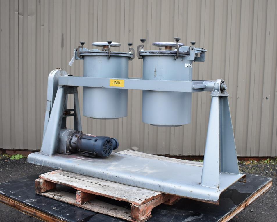 Image PAUL O ABBE PJM/D1 Pivoting Jar Mill 1326887