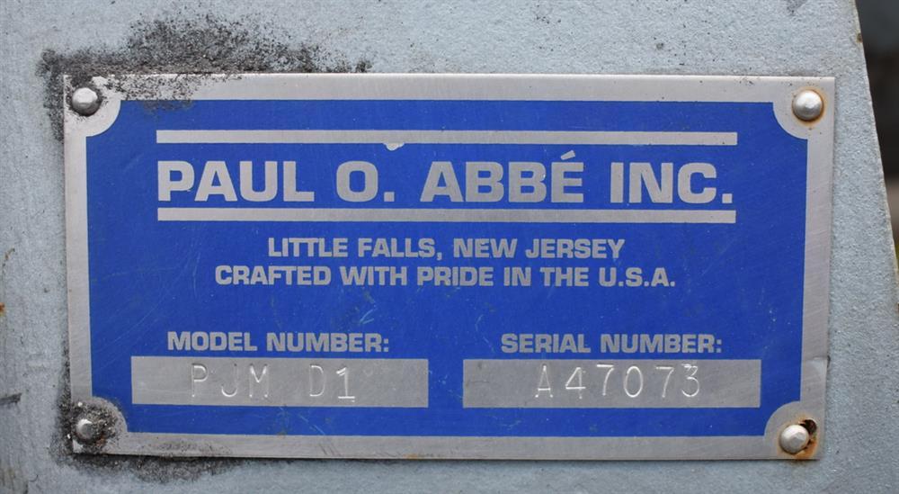 Image PAUL O ABBE PJM/D1 Pivoting Jar Mill 1326892