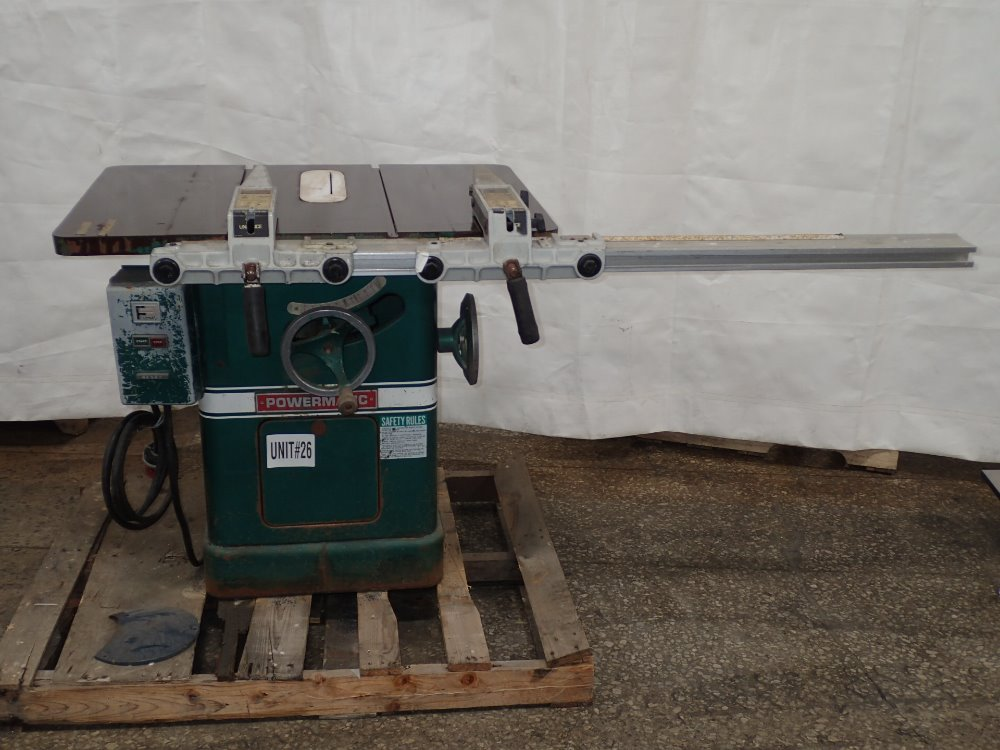 POWERMATIC 66 Table Saw - 350394 For Sale Used N/A