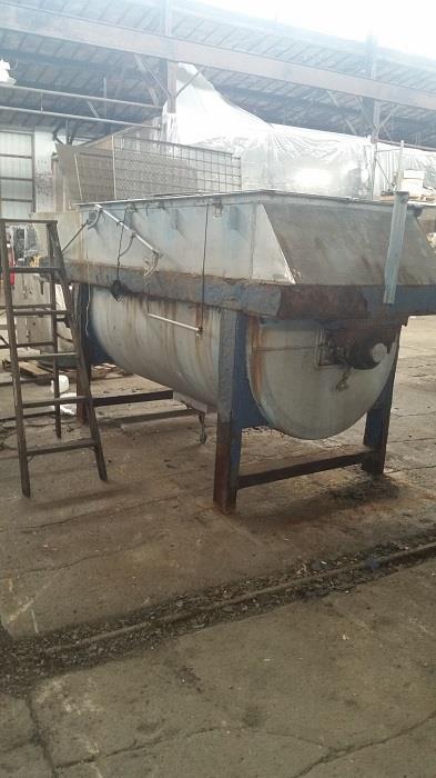 Image 100 Cu. Ft. Ribbon Blender - Stainless Steel 1331058