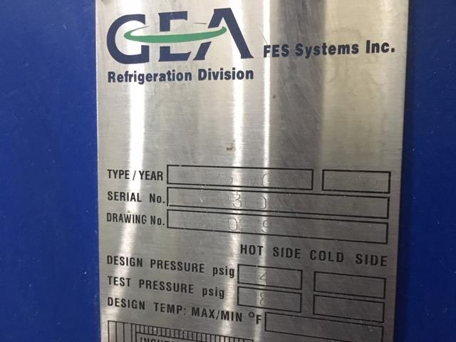 Image GEA NIRO INC. Sea Filtration RO System 1336225