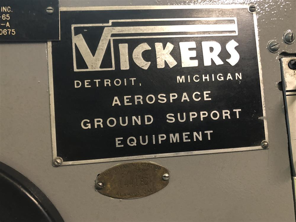 Image VICKERS 917013-A 100HP Universal Hydraulic Test Stand / High Speed Gear Box 1337212