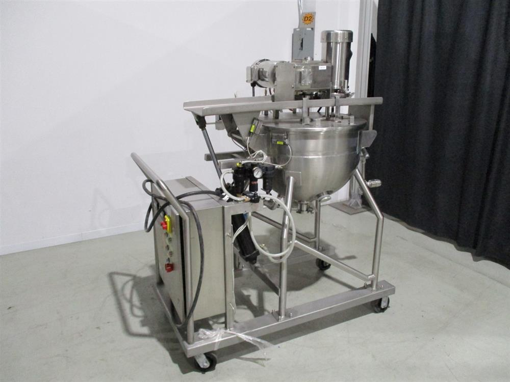 Jacketed Tank Kettle wi - 352063 For Sale Used N/A