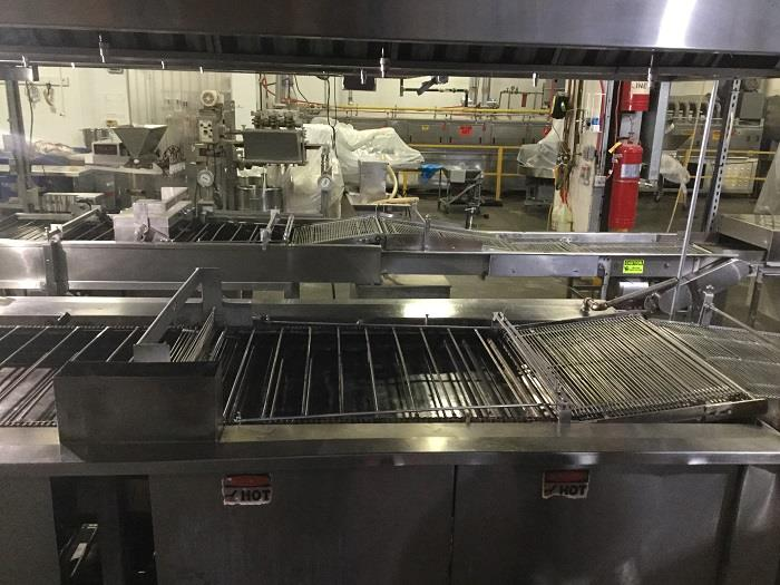 Image Commercial Bakery Donut Fryer, Krispy Kreme 600 Dz./Hr. Food Manufacturing 1370648