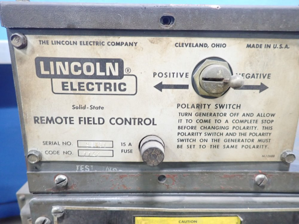 LINCOLN ELECTRIC SAF-60 - 352231 For Sale Used N/A