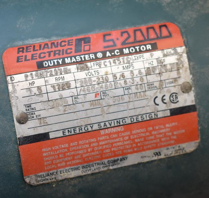 Image 57 Cu. Ft. APV Roller Bar Dough Mixer 1340266
