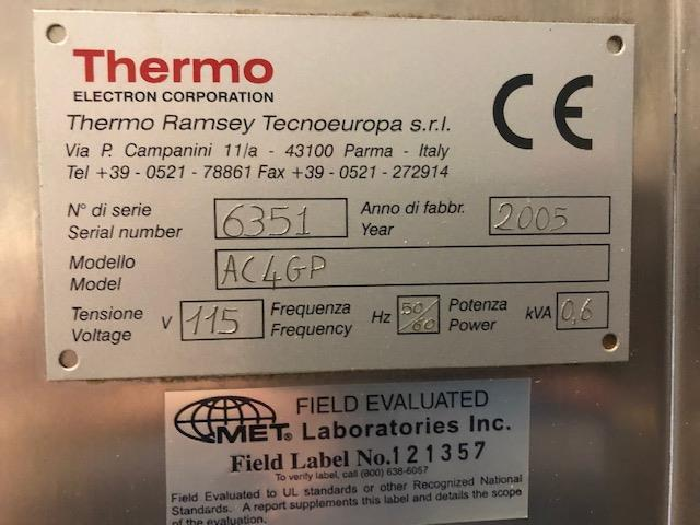 Image RAMSEY AC4000i Autocheck Checkweigher 1347211