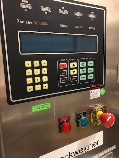 Image RAMSEY AC4000i Autocheck Checkweigher 1347219