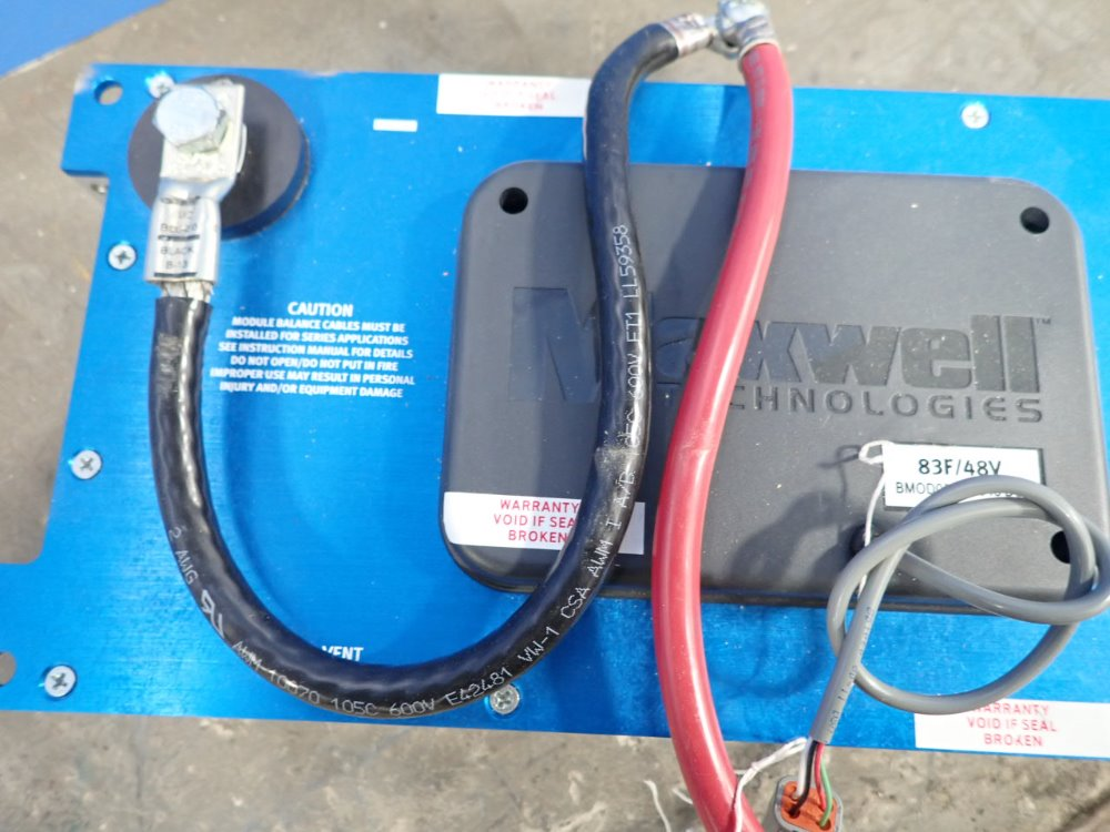 MAXWELL 83F/48V Ultraca - 353893 For Sale Used N/A