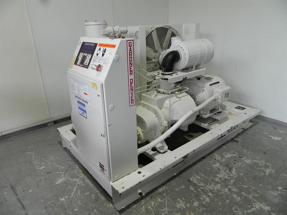 75 HP GARDNER DENVER Ai 354375 For Sale Used N A