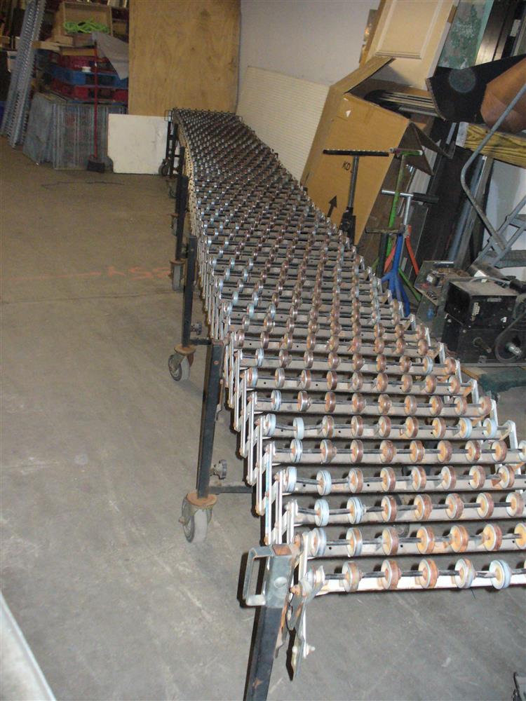BESTFLEX Expandable/Portable Skatewheel Conveyor