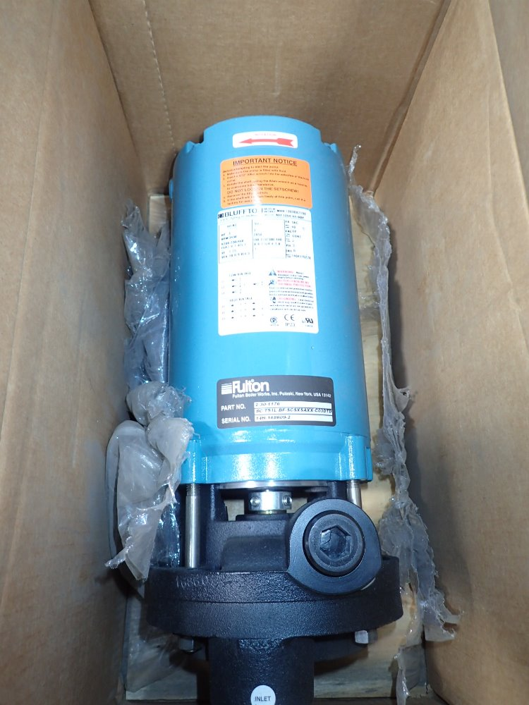 FULTON 2-30-1176 Pump - 356010 For Sale Used N/A