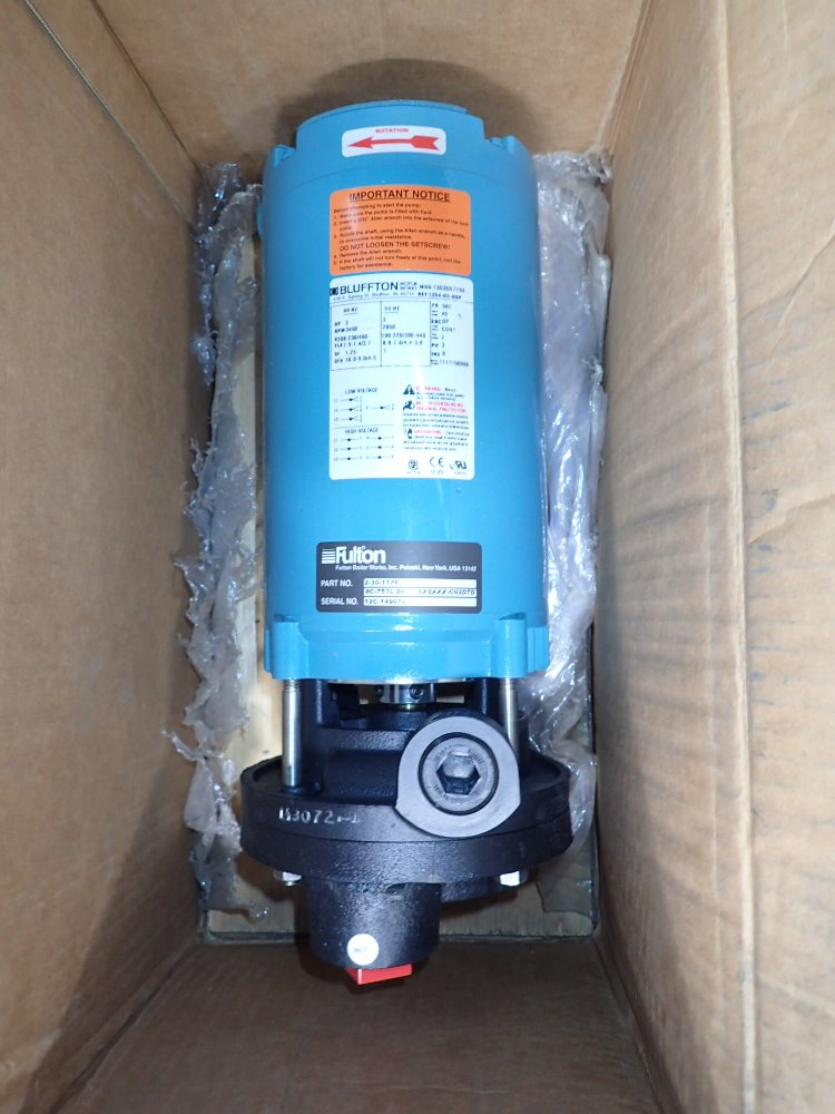 FULTON 2-30-1176 Pump - 356011 For Sale Used N/A