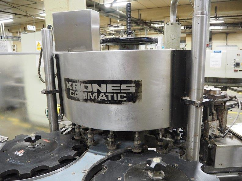 Image KRONES Canmatic Labeler 1366204