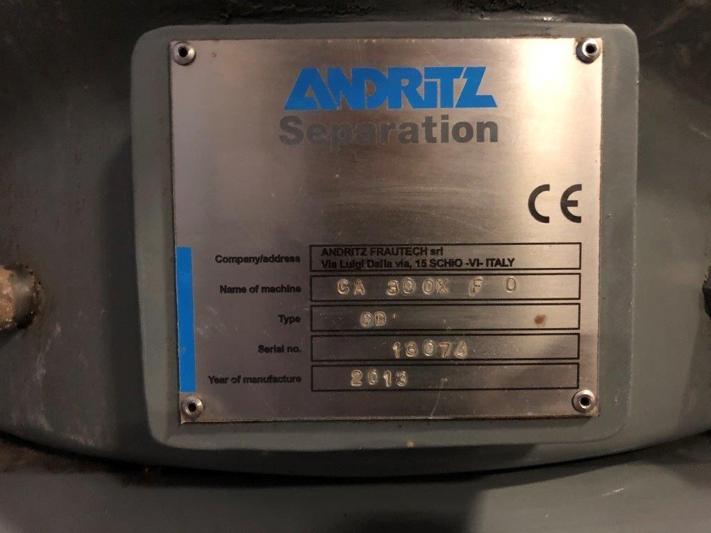 Image ANDRITZ CA 30 OX F Centrifuge 1369302
