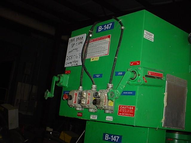 Image 100 Gallon MYERS Double Planetary Mixer with Sweep 1370725