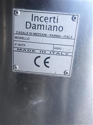 Image INCENTRIC DAMIANO 290V Liquid Filler with Jacketed Tank 1370742