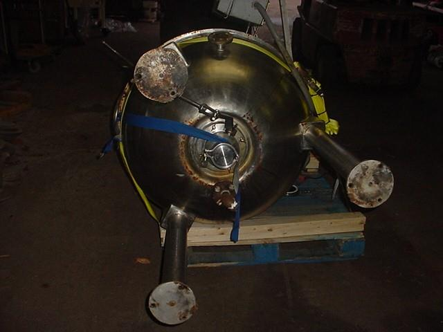 Image 42 Gallon Domed Top Sweep Jacketed Kettle - 316 Stainless Steel 1370919