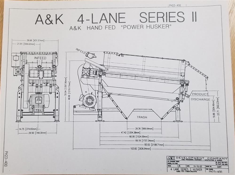 Image A&K 4 Lane Power Husker 1372388