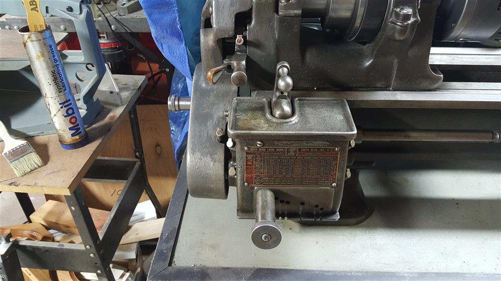 SOUTH BEND Lathe - 358309 For Sale Used