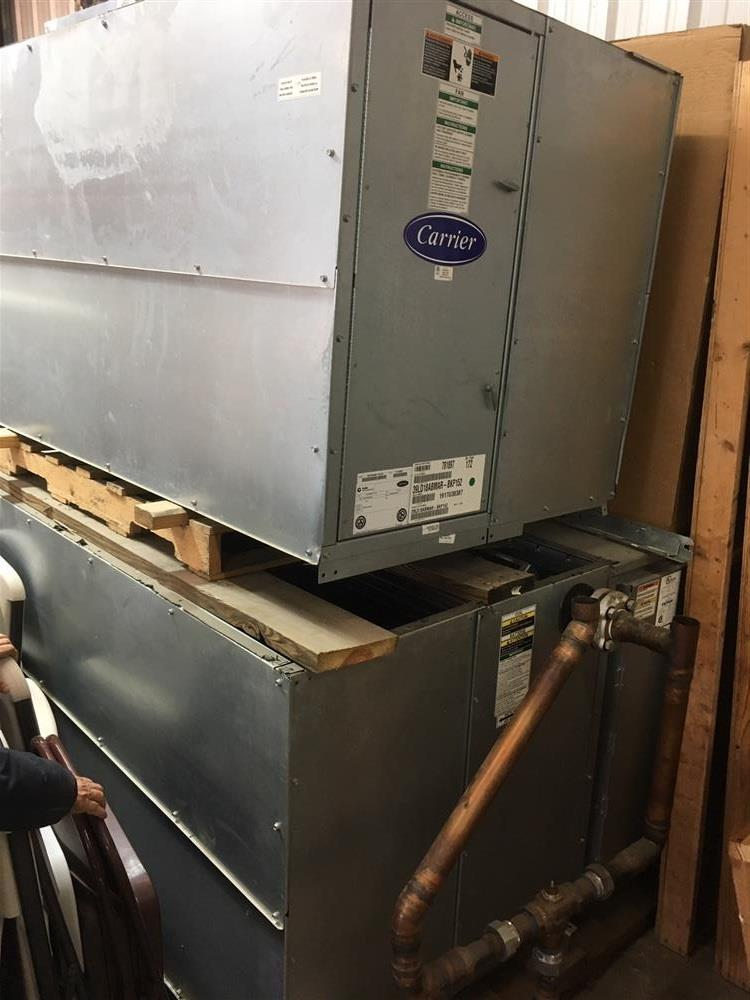 Image 20 Ton CARRIER Chilled Water Air Handling Unit with Electric Heat 1375543